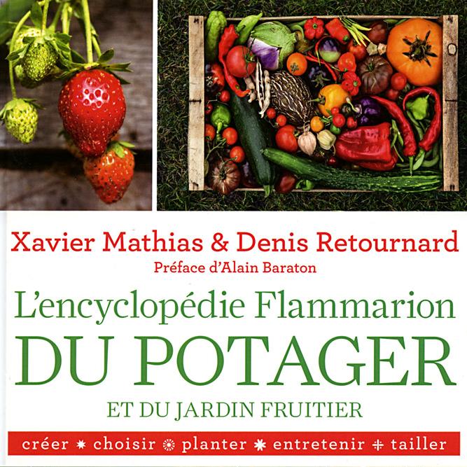 Encyclopédie du potager et du jardin fruitier - Flammarion- 2016